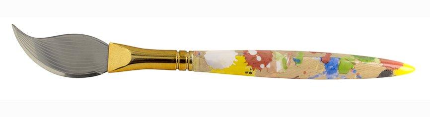 coltello formaggio pennello pittore Pylones